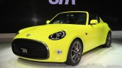 Toyota S-FR concept front quarters at the 2015 Tokyo motor show
