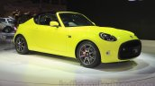 Toyota S-FR concept front three quarter at the 2015 Tokyo motor show
