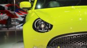 Toyota S-FR concept headlight at the 2015 Tokyo motor show