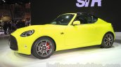 Toyota S-FR concept profile at the 2015 Tokyo motor show
