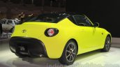 Toyota S-FR concept rear angle at the 2015 Tokyo motor show