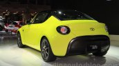 Toyota S-FR concept rear quarter at the 2015 Tokyo motor show