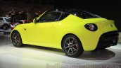 Toyota S-FR concept rear quarters at the 2015 Tokyo motor show