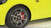 Toyota S-FR concept wheel at the 2015 Tokyo motor show