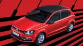 VW Polo Exquisite Edition front three quarter launched in India