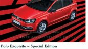 VW Polo Exquisite edition
