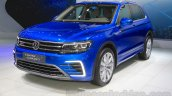 VW Tiguan GTE concept front quarters at the 2015 Tokyo Motor Show