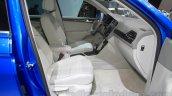 VW Tiguan GTE concept seats at the 2015 Tokyo Motor Show