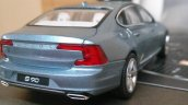 Volvo S90 rea quarter fully revealed via 1-43 scale model