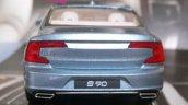 Volvo S90 rear fully revealed via 1-43 scale model