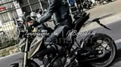 Yamaha MT-15 alloy wheels spyshot