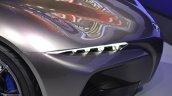 Yamaha Sports Ride Concept headlamp at the 2015 Tokyo Motor Show