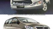 2014 Toyota Innova vs 2016 Toyota Innova front low Old vs New