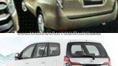 2014 Toyota Innova vs 2016 Toyota Innova rear Old vs New