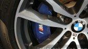 2015 BMW X5 M brake caliper first drive review