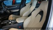 2015 BMW X5 M front seats first drive review