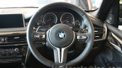 2015 BMW X5 M steering wheel first drive review