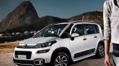 2016 Citroen Aircross (facelift) front three quarter unveiled in Brazil