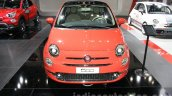 2016 Fiat 500 (facelift) front at the 2015 Dubai Motor Show
