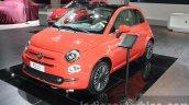 2016 Fiat 500 (facelift) front quarter at the 2015 Dubai Motor Show