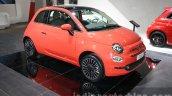 2016 Fiat 500 (facelift) front three quarter at the 2015 Dubai Motor Show