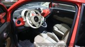 2016 Fiat 500 (facelift) interior at the 2015 Dubai Motor Show