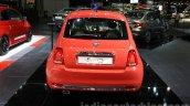2016 Fiat 500 (facelift) rear at the 2015 Dubai Motor Show