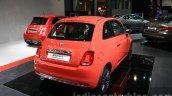 2016 Fiat 500 (facelift) rear quarter at the 2015 Dubai Motor Show