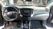2016 Fiat Fullback Double Cab dashboard at the 2015 Dubai Motor Show