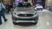 2016 Fiat Fullback Double Cab front at the 2015 Dubai Motor Show