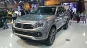 2016 Fiat Fullback Double Cab front three quarter at the 2015 Dubai Motor Show
