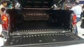 2016 Fiat Fullback Double Cab loading deck at the 2015 Dubai Motor Show
