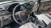 2016 Fiat Fullback Single Cab interior at the 2015 Dubai Motor Show