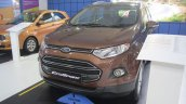 2016 Ford EcoSport front quarter at APS 2015