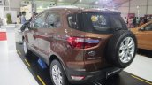 2016 Ford EcoSport rear quarter at APS 2015