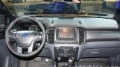 2016 Ford Ranger Wildtrak dashboard at the 2015 Dubai Motor Show