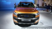 2016 Ford Ranger Wildtrak front at the 2015 Dubai Motor Show