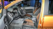 2016 Ford Ranger Wildtrak front cabin at the 2015 Dubai Motor Show