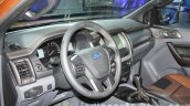2016 Ford Ranger Wildtrak interior at the 2015 Dubai Motor Show