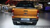 2016 Ford Ranger Wildtrak rear at the 2015 Dubai Motor Show