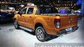 2016 Ford Ranger Wildtrak rear three quarter at the 2015 Dubai Motor Show