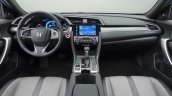 2016 Honda Civic Coupe dashboard revealed
