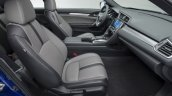 2016 Honda Civic Coupe front cabin revealed