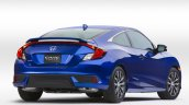 2016 Honda Civic Coupe rear three quarter revealed