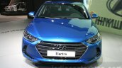 2016 Hyundai Elantra front at 2015 Dubai Motor Show