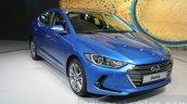 2016 Hyundai Elantra front quarter at 2015 Dubai Motor Show