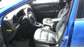 2016 Hyundai Elantra front seat at 2015 Dubai Motor Show
