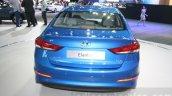 2016 Hyundai Elantra rear at 2015 Dubai Motor Show