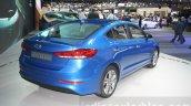 2016 Hyundai Elantra rear quarter at 2015 Dubai Motor Show