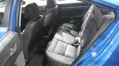 2016 Hyundai Elantra rear seat at 2015 Dubai Motor Show